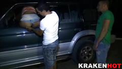 Krakenhot - Dogging with a Mature provocative woman