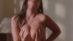 kira eggers - beautiful tits in erotic movie