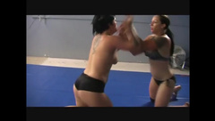 Doggie style fuck in Catfight