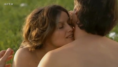 Laetitia Casta naked outside in Born In 68