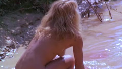 Ellen Barkin removes dress and shows hairy pussy in Siesta