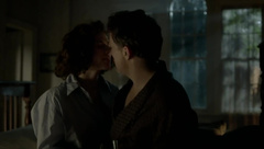Hayley Atwell having sex on bed in Restless