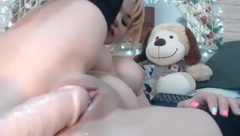 natashaa_10 uses dildo and vibrator