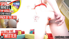 Candy May Livecam on Chaturbate - BJ - Butt plug - dildo