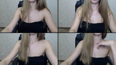 Belka22 playing with herself sue & toy in webcam show 2017-07-21_150121