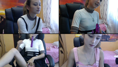 littlewetgf riding her dildo,missionary,and fuckin her self doggystyle and spankin her ass while fuckin herself with her dildo in free webcam show 2017-07-17_073055