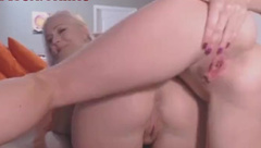 Two crazy women with dildo (real webcam).mp4