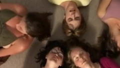 Group of Friends Orgasm Together (Add me on Snapchat: BabeHot6969 )