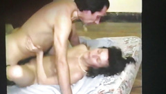 AndreaSex fucked hard by lover boy while film Cuckold happy.