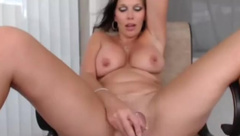 Playful mom real cougar masturbates outdoor.mp4