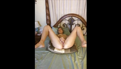 young amateur milf katrina before bed live shoot