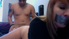 Bootilicious babe punished on livecam