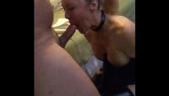 wife loves to be watched sucking cock