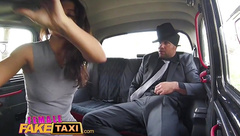 Female Fake Taxi Heist makes sexy driver horny for a fuck