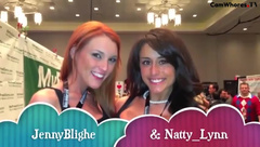 JennyBlighe Vegas Girl Girl and Boy Girl w/ NattyLynn