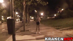Sex in the street, Porn amateur video