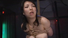 Ayaka Shintani bound and brutally whipped until she screams