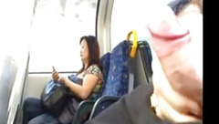 Seen transport wanker cums.flv