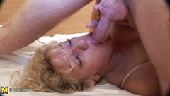 Real granny fucked nice without condom