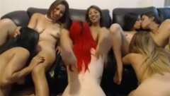 Lesbian Teens Have Some Hot Fun On Webcam