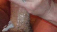 Wife loves sucking cock and eating cum