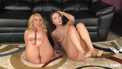 Aaliyah Love and Jojo Kiss Are Two Babes Who Love To Pleasure Each Other