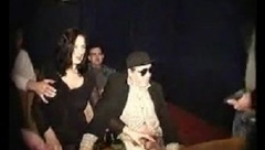 Hubby share his wife in theatre - More On HDMilfCam.com