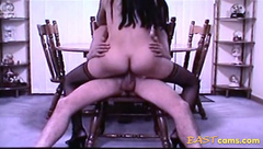 Asian Mail Order Bride Rides Nine Inch White Boner 2