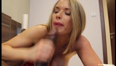 MissTiff - bbc Black in blonde with CIM BBC - Premium