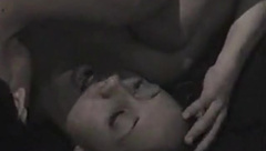 Couple has passionate sex on the stairs 2
