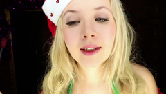 ASMR Ears cleaning by christmas Elf