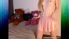 Sexy Blonde Is Teasing You With Her Perfect Body