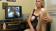 Mature Mom Wife Granny Filming Herself To Orgasm