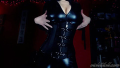 Violet Doll - Catsuit body worship