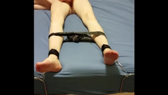 Hot teen tied up, teased and pleased!!!