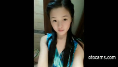 Cute chinese teen dancing on webcam - otocams.com