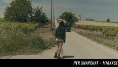Hitchhiker Picked Up Fucked HER SNAPCHAT - MIAXXSE