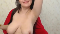 Super Sexy Long Haired Hairplay, Striptease and Masturbating, Long Hair