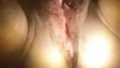 Penny hairy pussy pissing in mirror