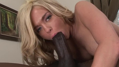 Teen Crista treated to her biggest black cock ever