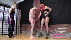 Amadahy and Naomi - Slave Punished for Saying No to its New Princess