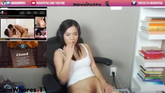 NovaPatra - Leaves Twitch On and Then Faps in private