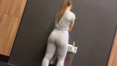 WHITE TEEN WITH FIT PAWG BOOTY!!!