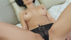 Amateur Sexy busty MILF Shalina Devine has sex with her ex