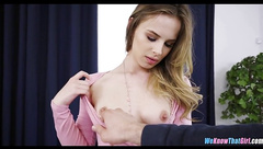 Perfect Babe Fucks around in Office