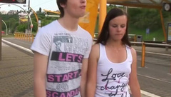 teen sensation - young girl and young boy in love.mp4