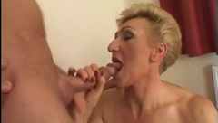 Mature Blonde Plays With His Dick And Her Toys, Fanaheyant