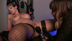 HannahBrooks French Mistress Strap On Fucks Me  in private premium video