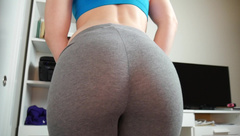 Ashley Alban Quickie Leggings JOI in private premium video