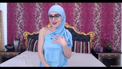 Arab teen has some perfect tits